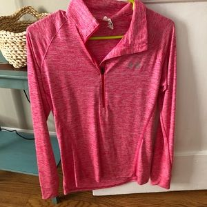 Under Armour long sleeve work out shirt, dry fit.